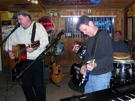 Manhattan Rob Walsh sings some BLUES with Joe  B. from G.W. Toye with Rich on drums from The Farmer Phil Band