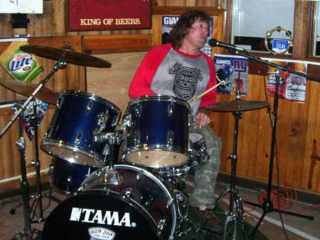 Chris Haup from the ABCD Band on Drums